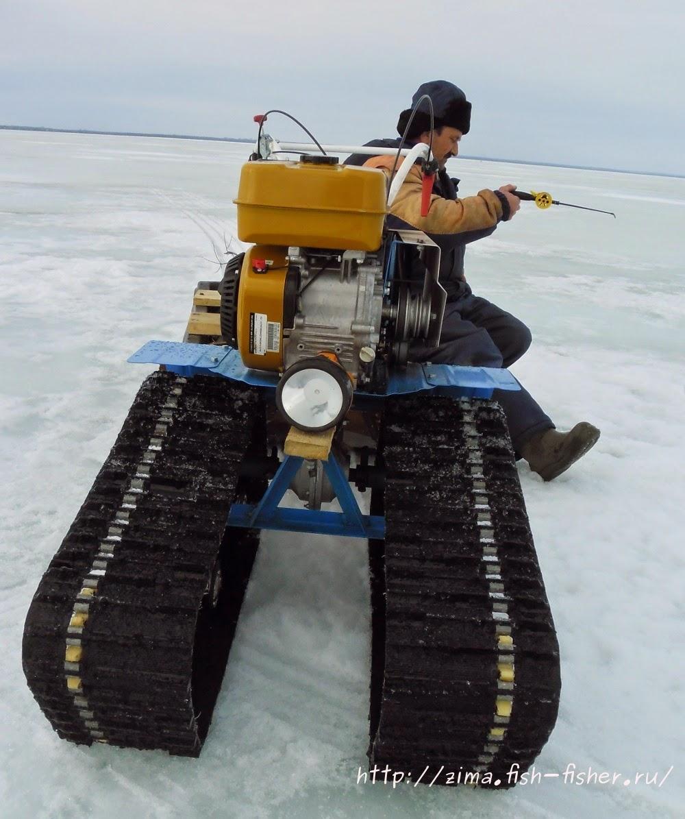 Снегоходная приставка к мотоблоку