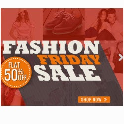 Homeshop18 : Clothing, Accessories & Footwears upto 77% off + 50% off on Rs. 1599