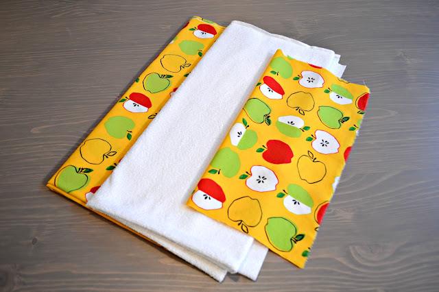 Stoff für Babyhandtuch