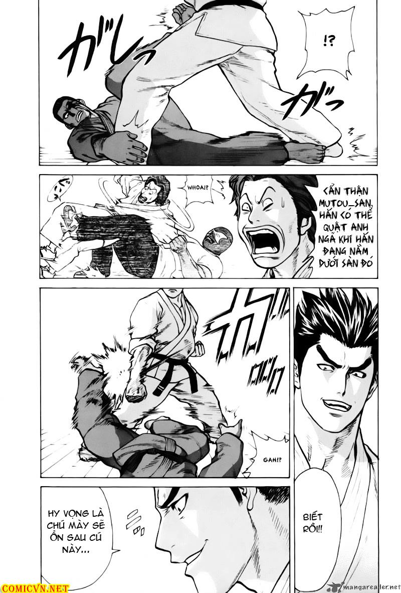 Karate Shoukoushi Kohinata Minoru chap 40 Trang 10