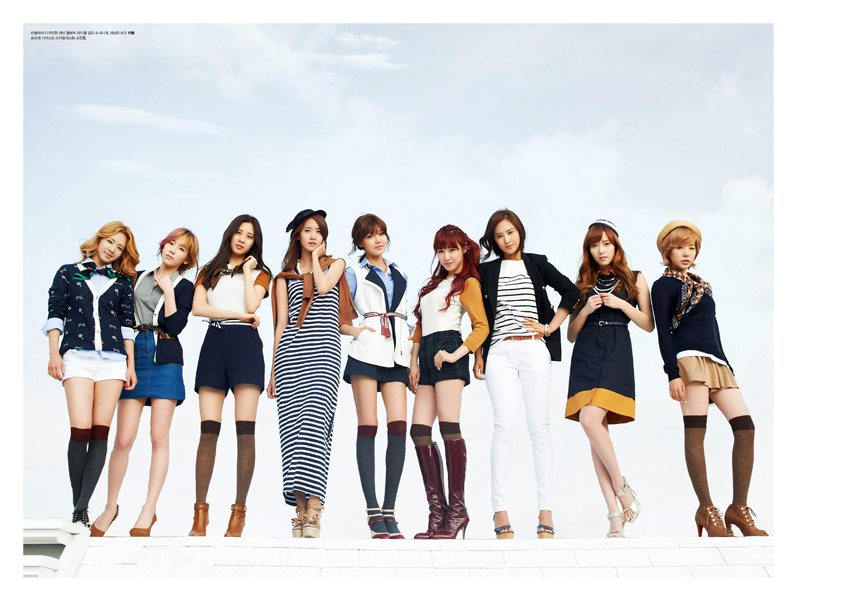 [PICTURE] SNSD fro HIGH CUT Magazine Full