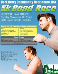 5k in Little Island nr Cork City... Sun 4th Nov 2018