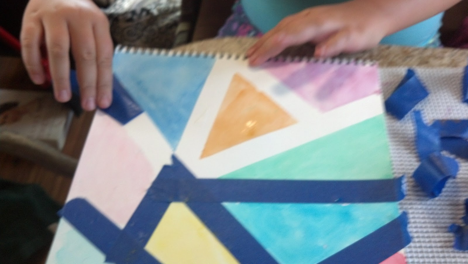 Straddling the Gap: Kenzie Does Crafts - Watercolor ...