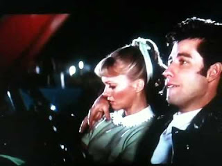 kadr z filmu grease