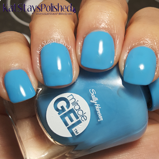 Sally Hansen Miracle Gel - Poolside Paradise - Dive Bar | Kat Stays Polished