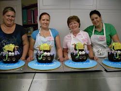 Noahs Ark cake class.