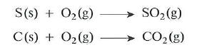 Reaccion del oxigeno con no metales