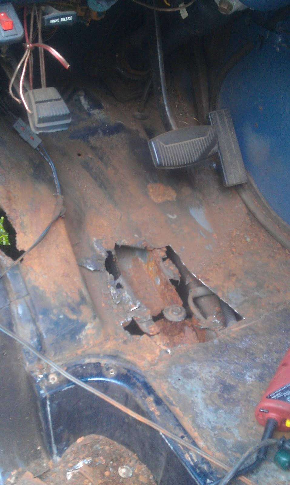 Rust Repair On A 1988 Econoline