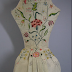 More about the 1734 Wedding Dress, and the Bride who Embroidered and Wore It