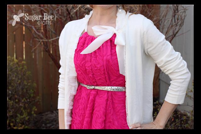 pillowcase dress women's bodice
