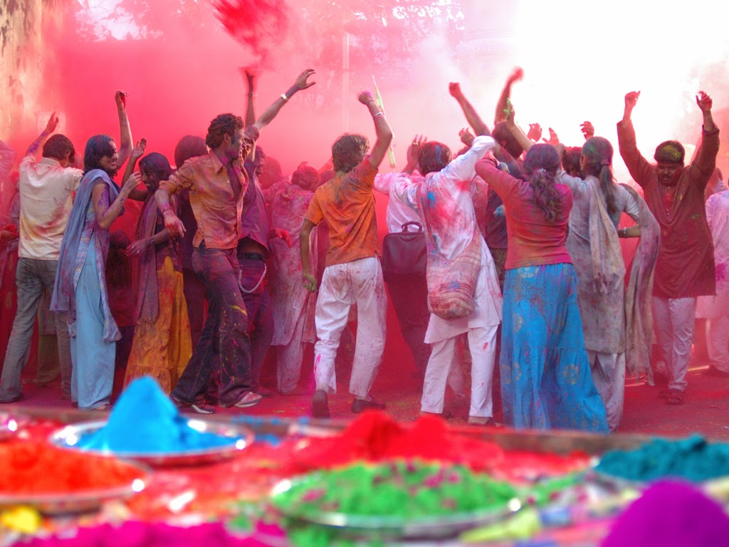 Happy Holi 2015 Celebration in Delhi