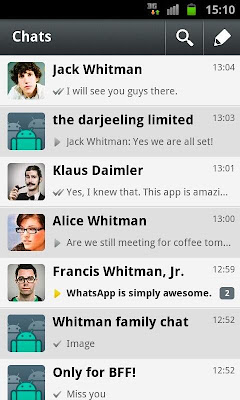 Update WhatsApp Terbaru April 2013