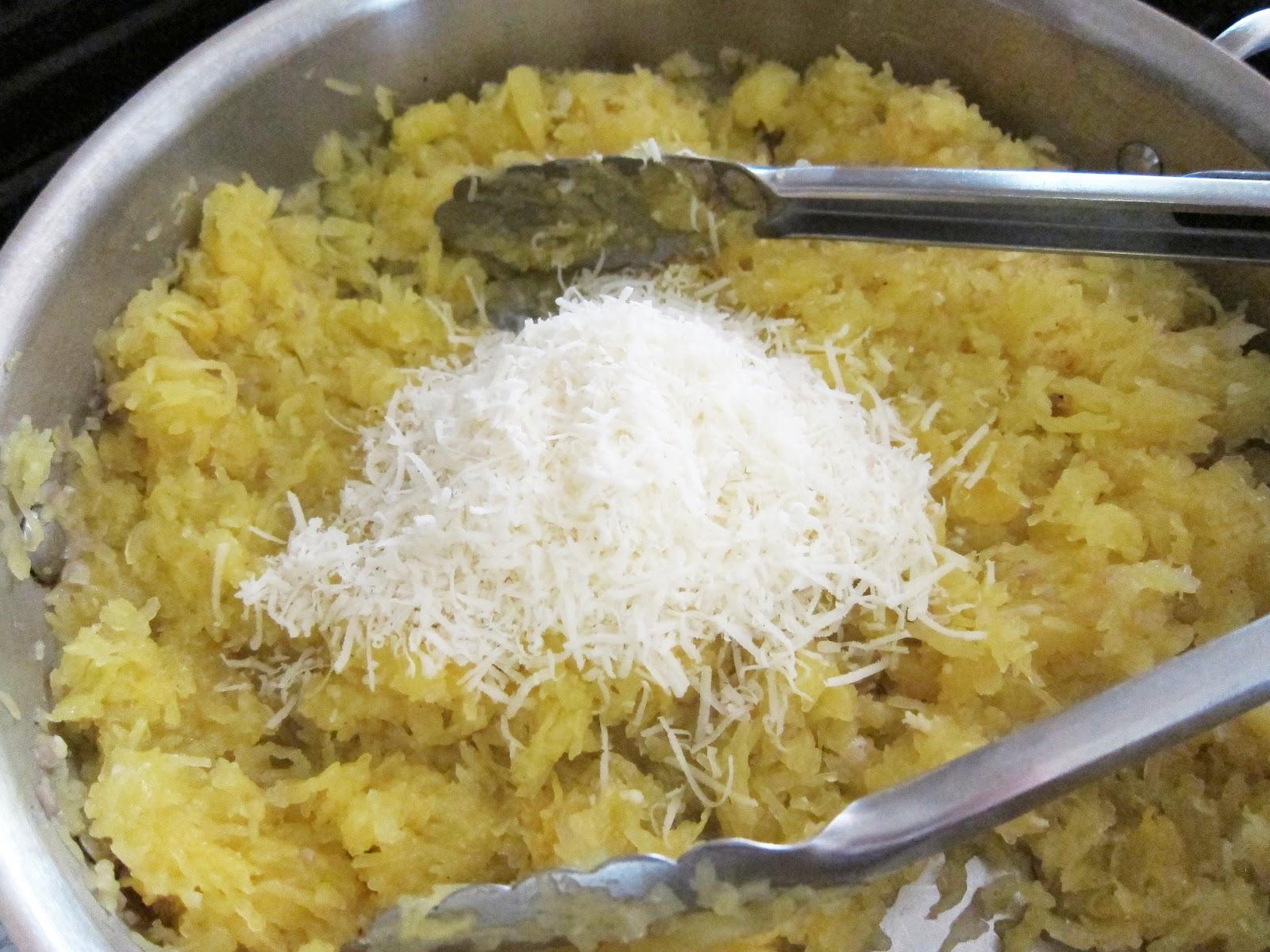 Bloatal Recall: Roasted Spaghetti Squash with Parmigiano-Reggiano