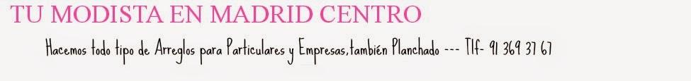 Modista Madrid: modistas En Madrid,arreglos de ropa, tarifas de precios, la mejor modista