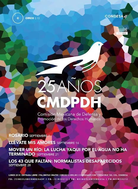 Ciclo de cine sobre derechos humanos en el Cineclub Condesa