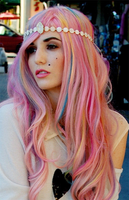 Trendy or Not? PASTEL COLORED HAIR