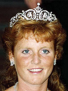 Tiara Mania: Duchess of York's Diamond Tiara