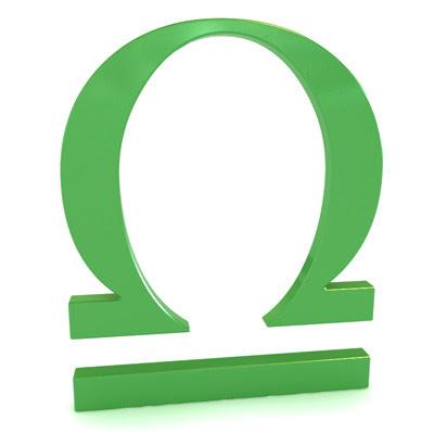 signo libra en simbolo