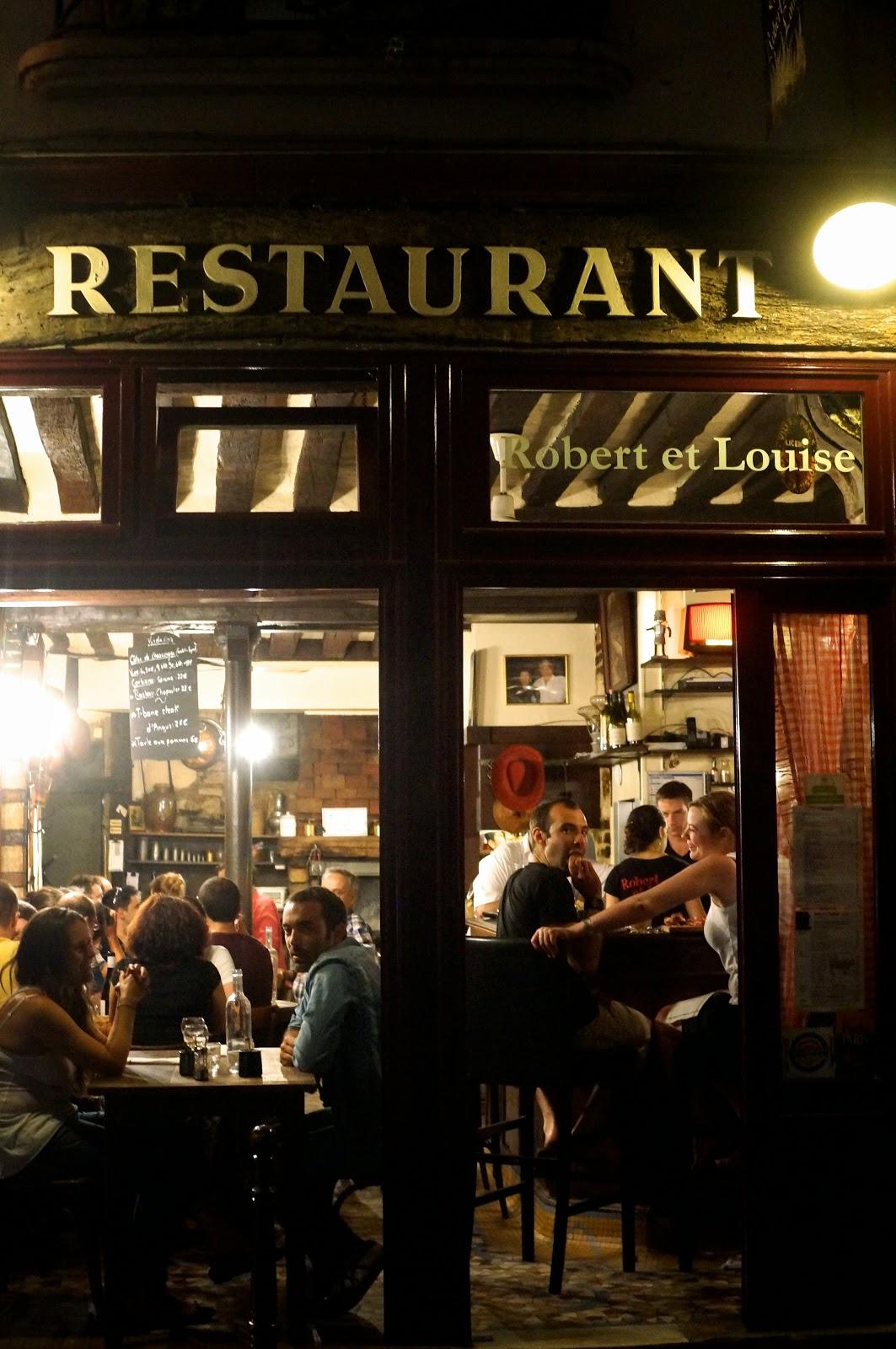 robert et louise restaurant paris