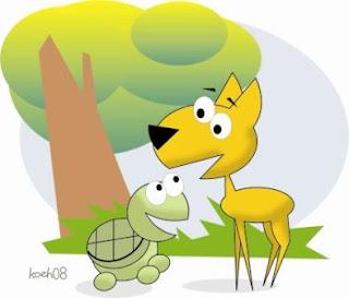 si kancil dan kura-kura