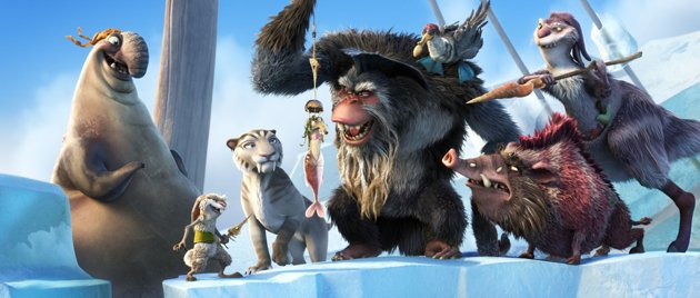 Captain Gutt on his pirate ship in  Ice Age: Continental Drift animatedfilmreviews.filminspector.com 2012