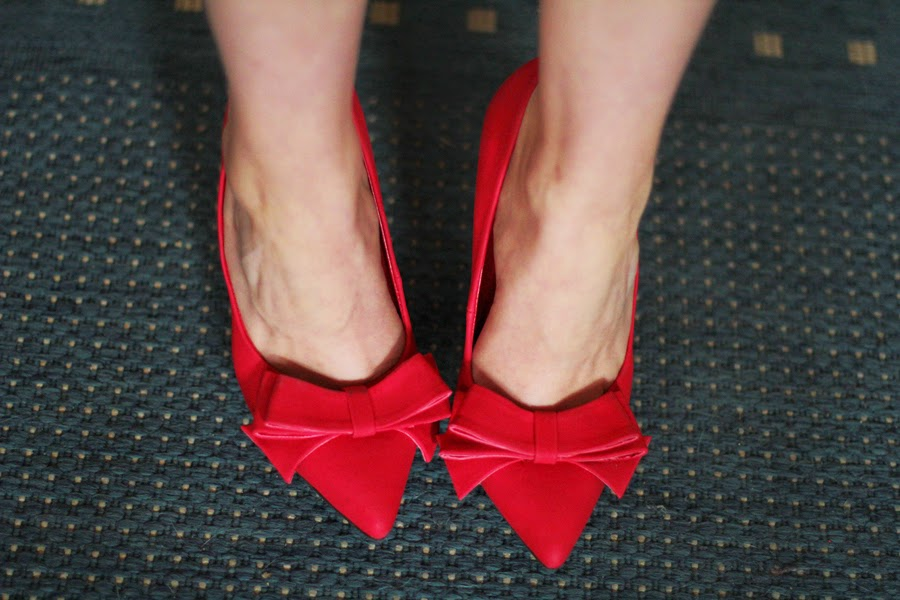 rote high heels just fab