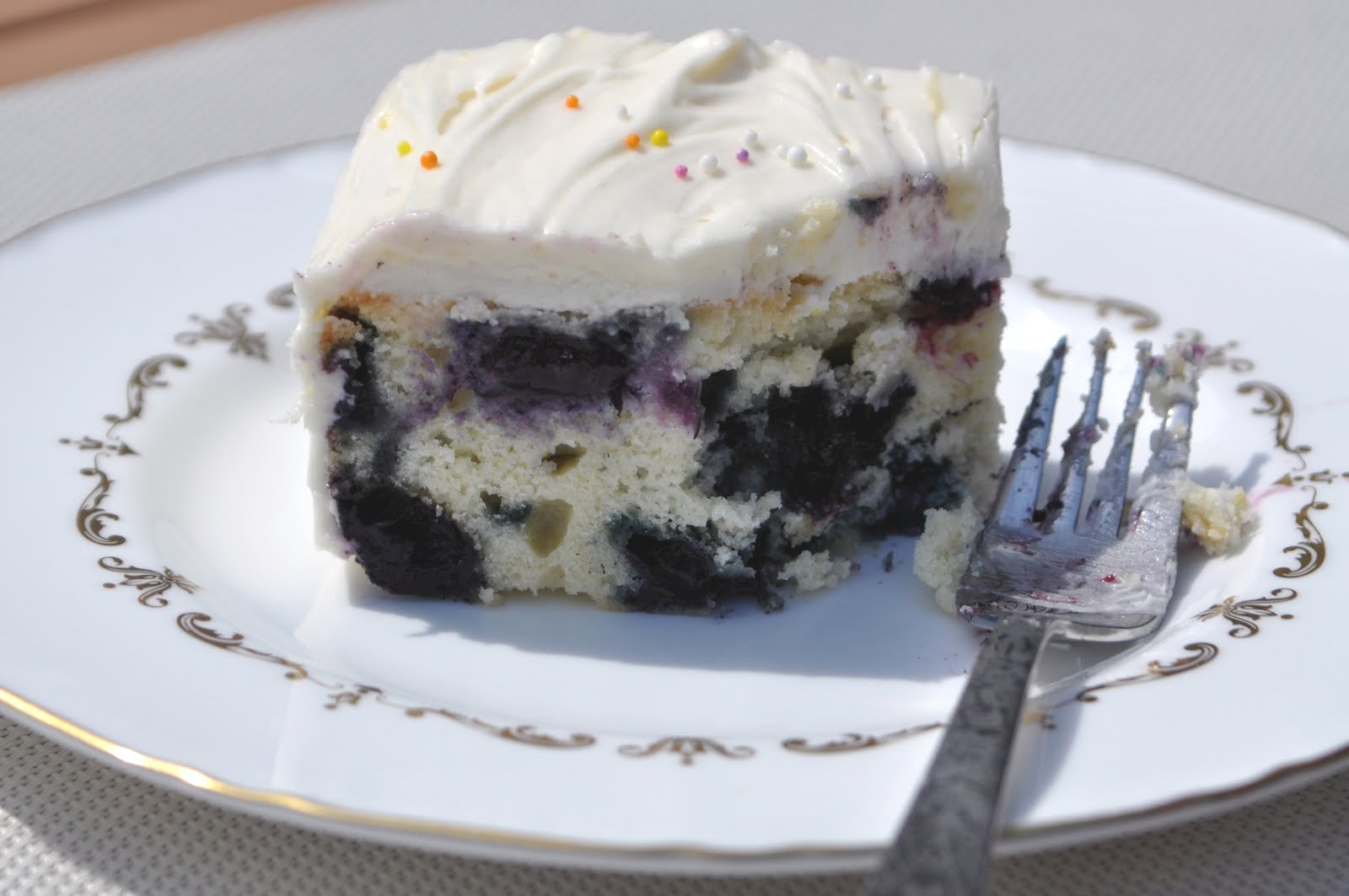 Impeccable Taste: Blueberry Tea Cake