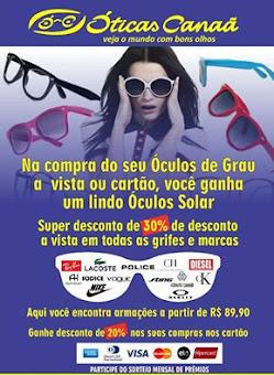 ÓTICAS CANAÃ/ITAPECURU-MIRIM (MA)