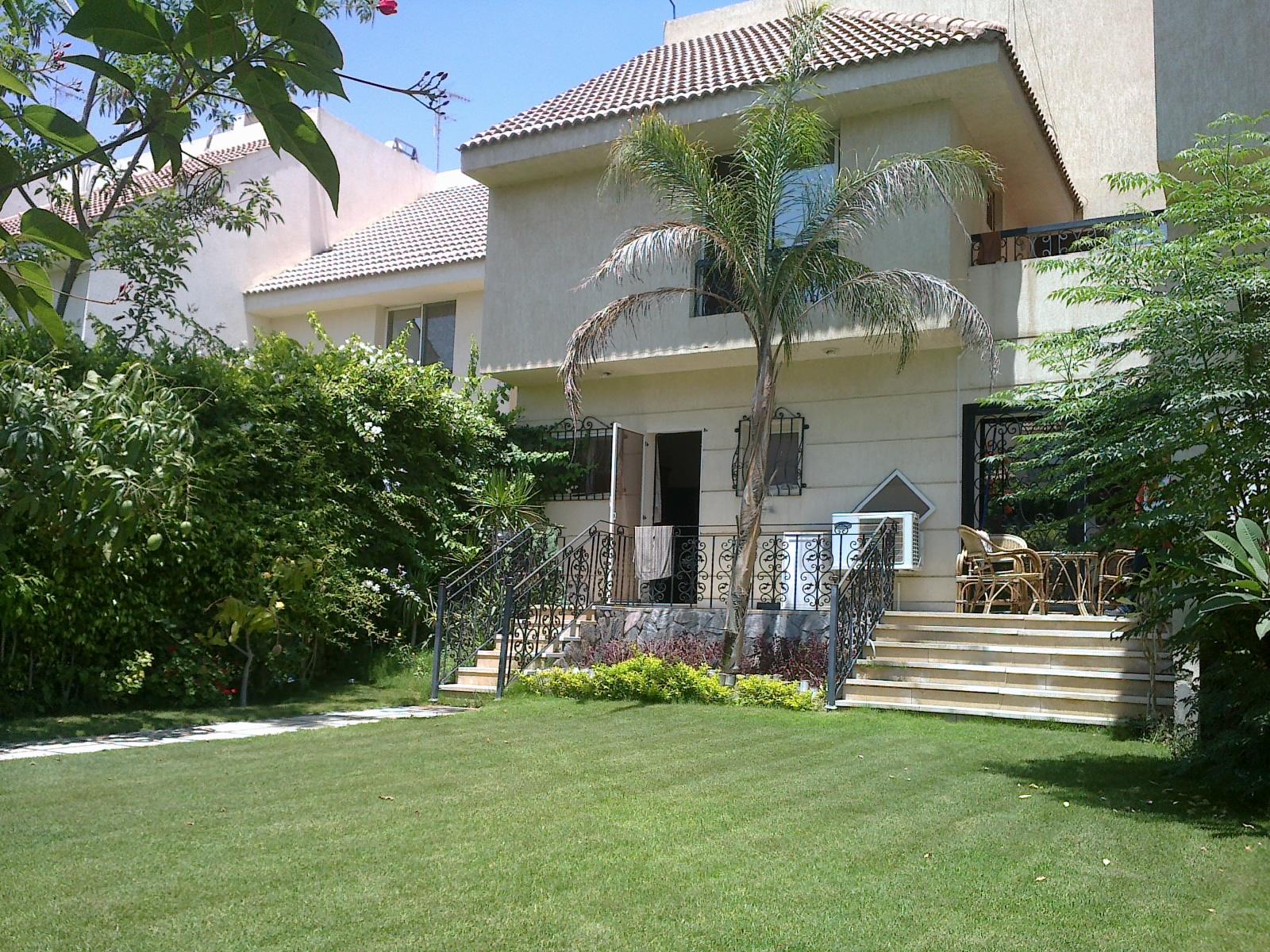 Townhouse Villa For Rent Furnished Inside Compound Mena