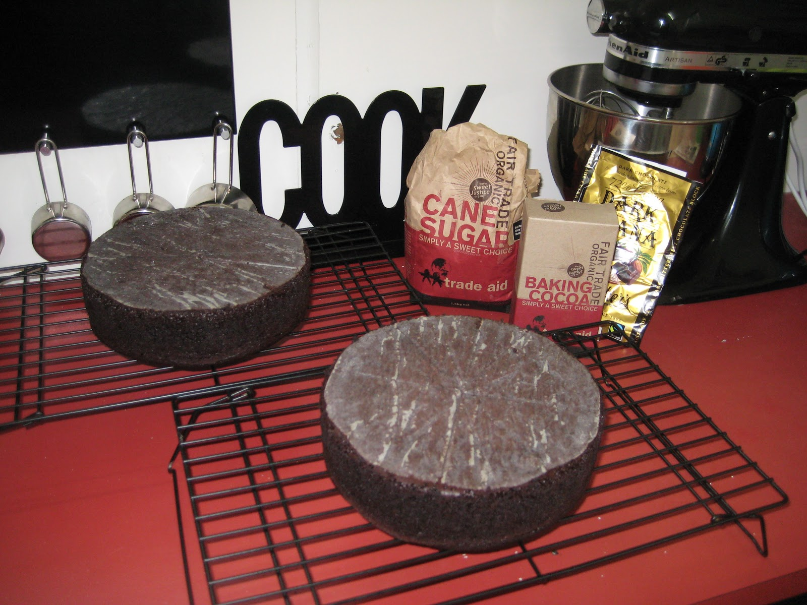 Kiwi Cakes Swiss Meringue Fairtrade Chocolate Cake With Esme