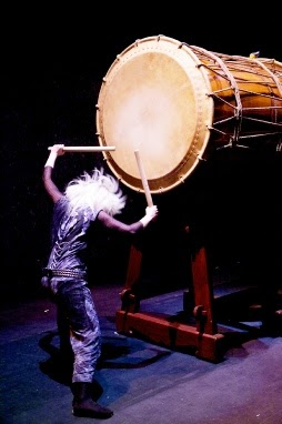 Mugenkyo Taiko Drummers Spectacular Sound and Presentation Weymouth Pavilion 15th Oct 2014