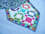 Charm pack table runner swap