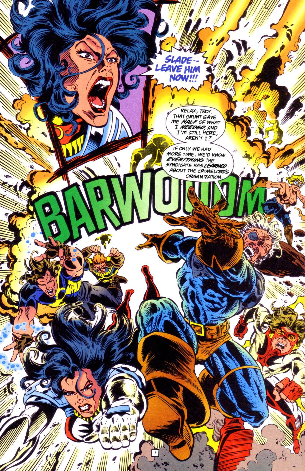 Deathstroke (1991) Issue #49 #54 - English 8