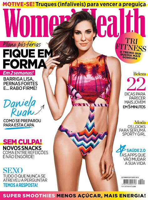 Actress @ Daniela Ruah - Women´s Health Portugal, September/October 2015