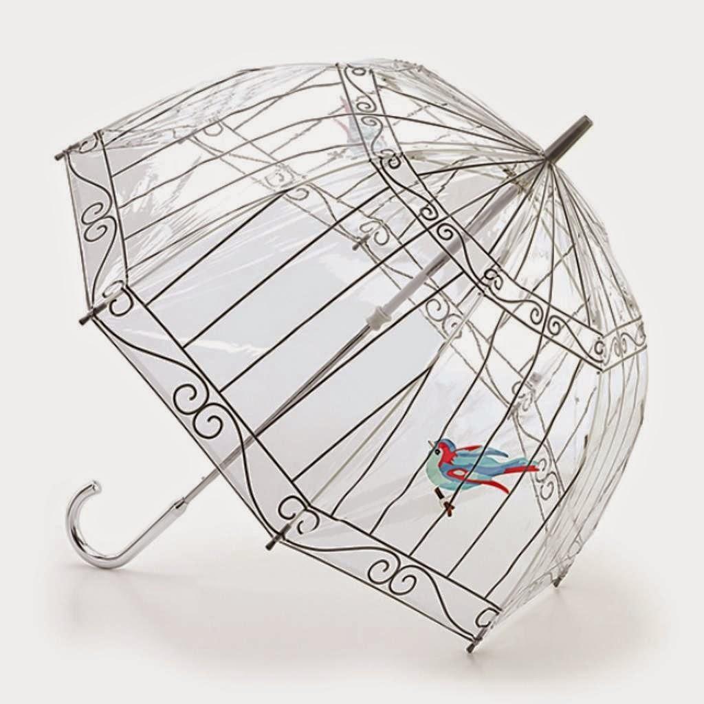 مظلة على شكل قفص