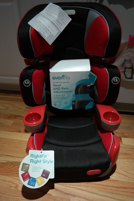 The Evenflo RightFit Booster Car Seat Offers Comfort And Safety