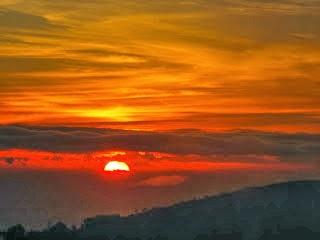 pemandangan bromo, sunrise