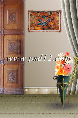 Studio Background in PSD Format