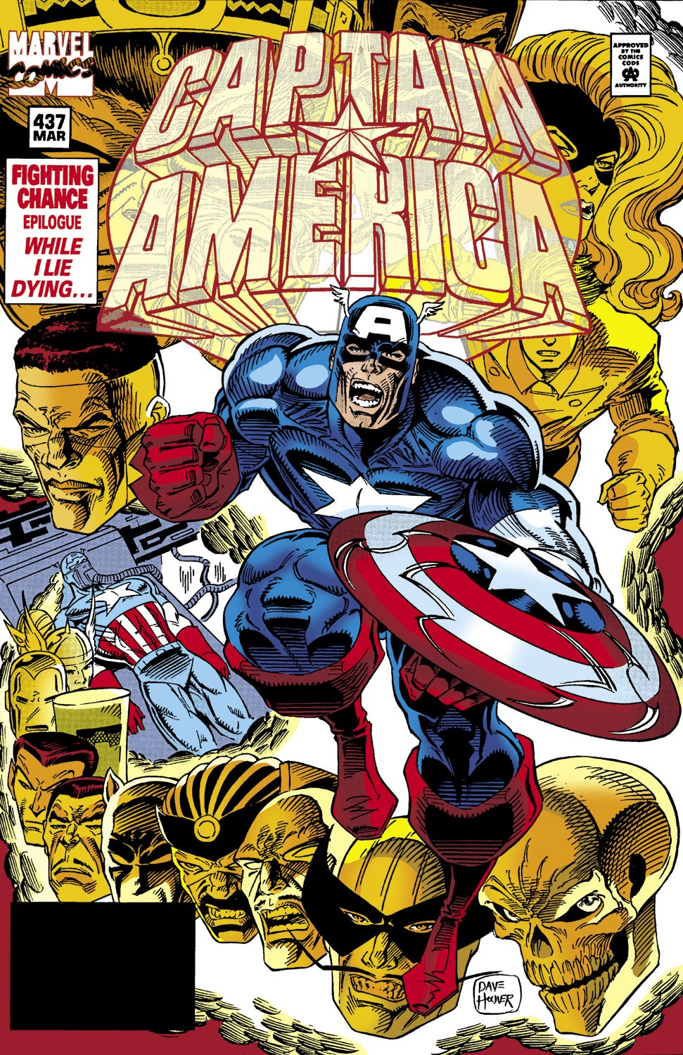 Captain America (1968) Issue #437 #387 - English 1