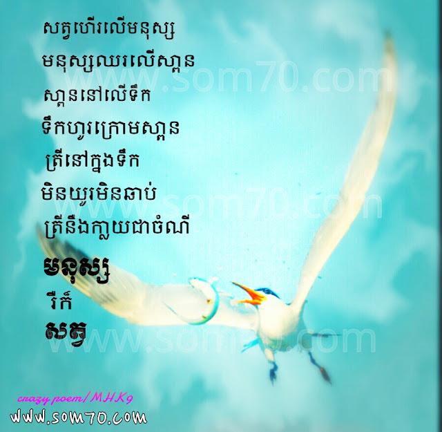 Crazy love new poem