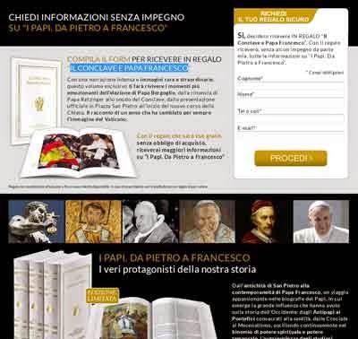 Papa Francesco libro