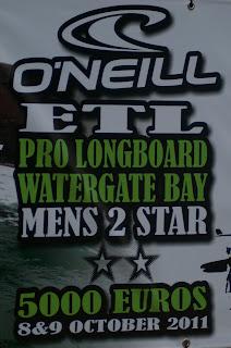 O'Neil Pro longboard Watergate Bay