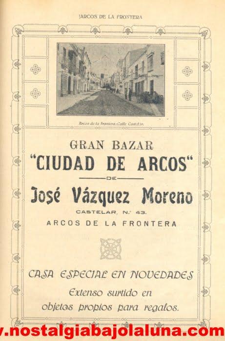 1924 REVISTA FERIA SAN MIGUEL ARCOS DE JUAN JESÚS  SÁNCHEZ VEGA