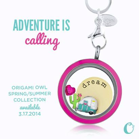 Adventure is Calling with the Spring/Summer Origami Owl Collection | Shop StoriedCharms.com
