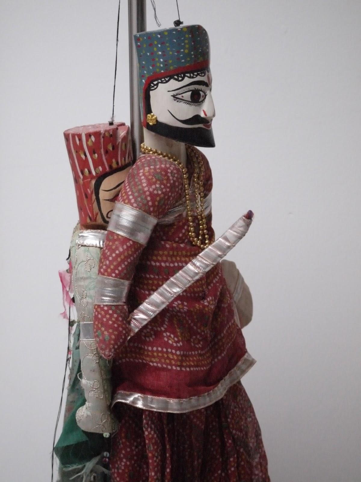poupée indienne marionettes