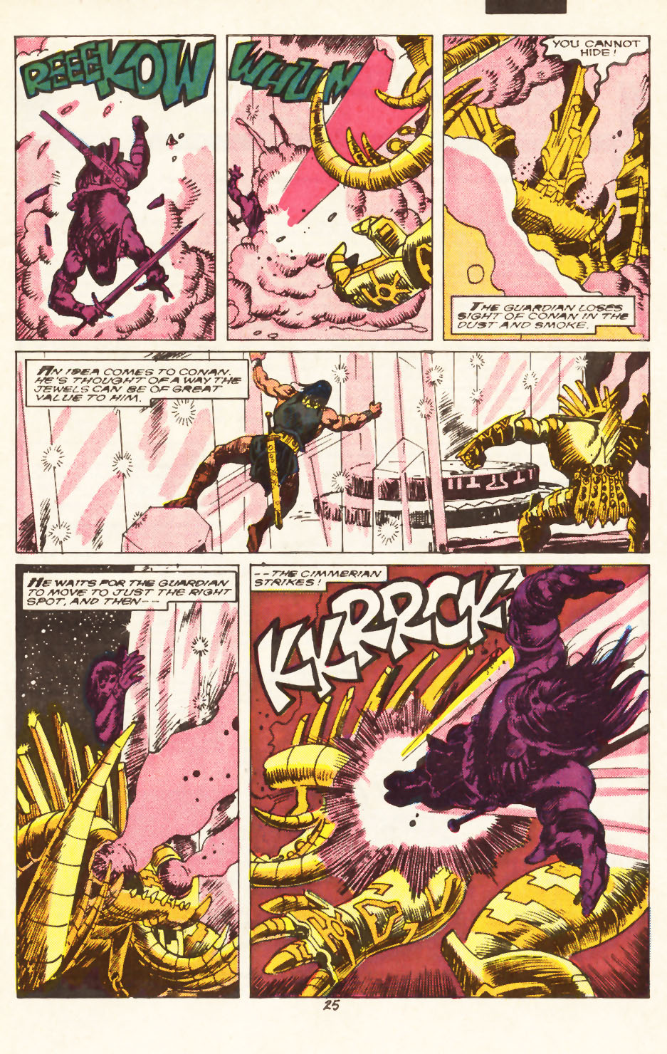 Conan the Barbarian (1970) Issue #217 #229 - English 20