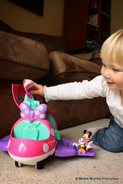 Minnie Mouse Fashion Jet Toy