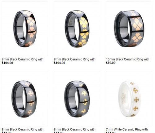 Ceramic Rings Ceramic Wedding Rings