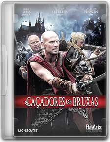Capa Caçadores de Bruxas   DVDRip   Dublado (Dual Áudio)