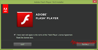 Update Adobe Flash Player 18.0.0.160 Final Install Offline